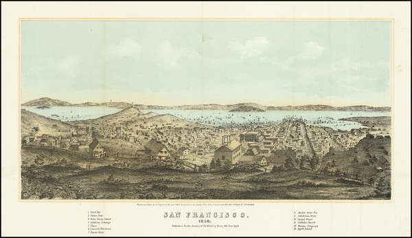 20-San Francisco & Bay Area Map By Henry Bill