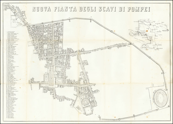 84-Southern Italy and Other Italian Cities Map By Victor Steeger