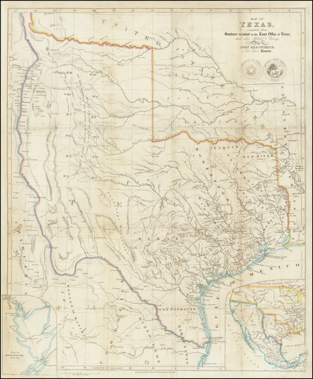 73-Texas and Southwest Map By John Arrowsmith
