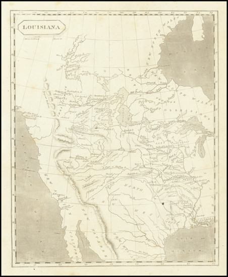 6-United States, Texas, Plains, Southwest, Rocky Mountains and California Map By Aaron Arrowsmith