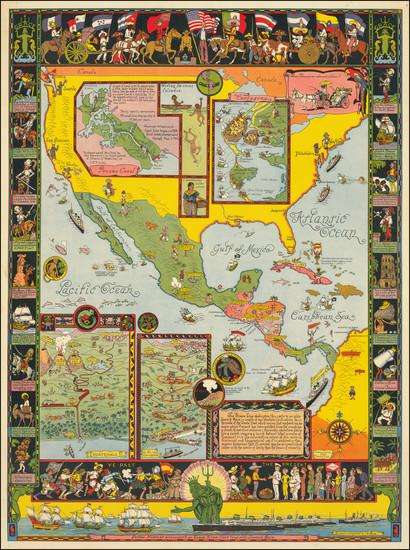 60-United States, Florida, Southeast, Southwest, North America, Baja California, Caribbean, Centra
