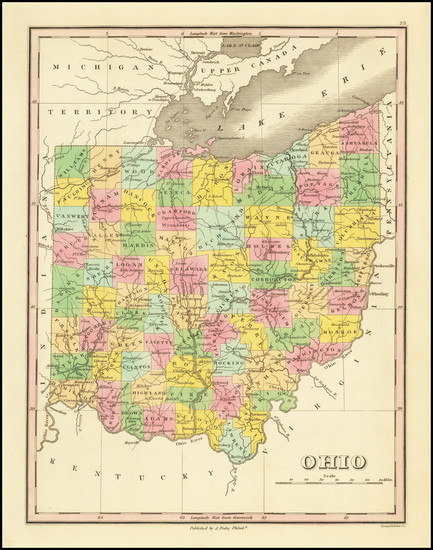 1-Ohio Map By Anthony Finley