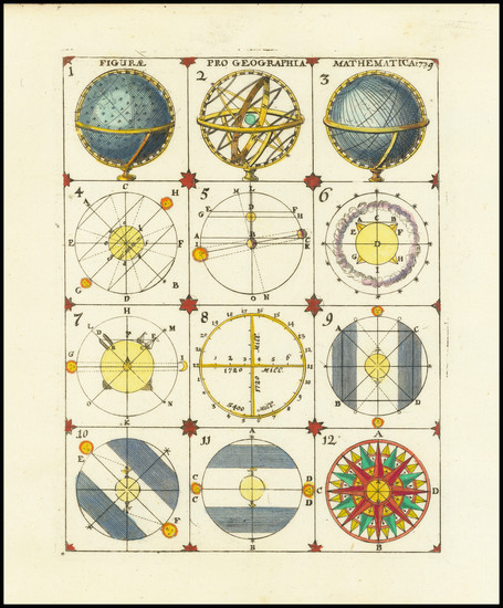 94-Curiosities and Celestial Maps Map By Anonymous