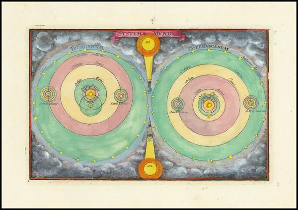 23-Celestial Maps and Curiosities Map By Adam Friedrich Zurner / Johann Christoph Weigel