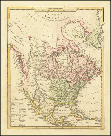93-North America Map By Robert Wilkinson