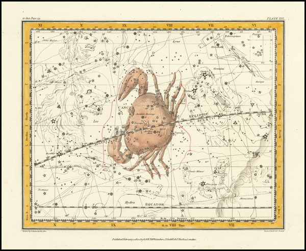 80-Celestial Maps Map By Alexander Jamieson
