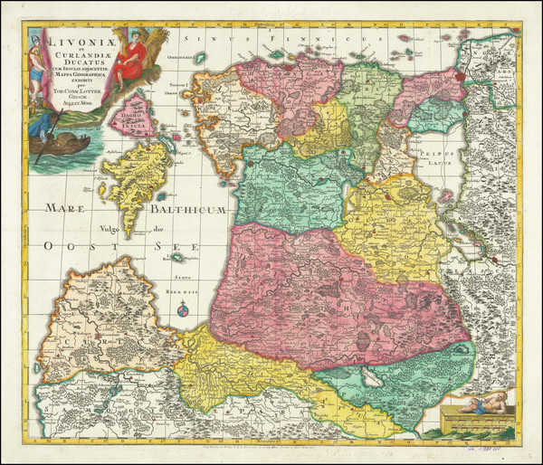 70-Baltic Countries Map By Tobias Conrad Lotter
