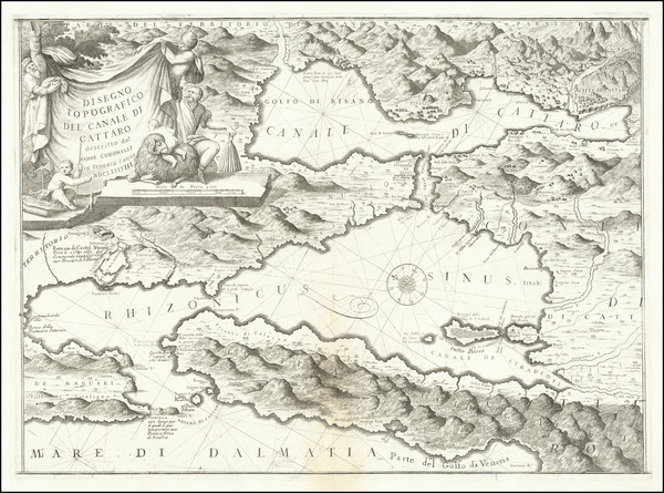 10-Balkans Map By Vincenzo Maria Coronelli