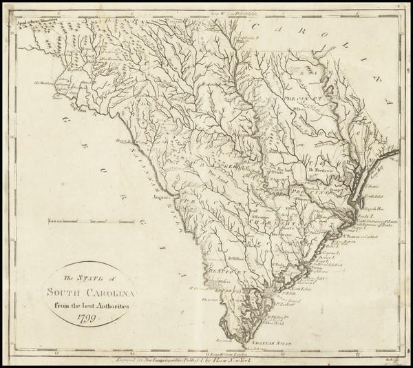 74-South Carolina Map By John Payne
