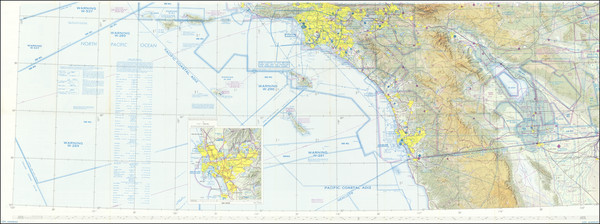 1-California, Los Angeles and San Diego Map By U.S. Coast & Geodetic Survey