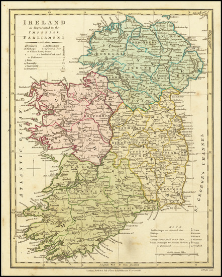 97-Ireland Map By Robert Wilkinson
