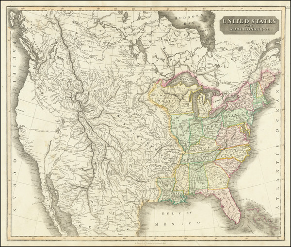 90-United States Map By John Thomson