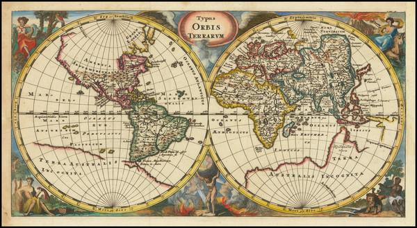 99-World Map By Philipp Clüver