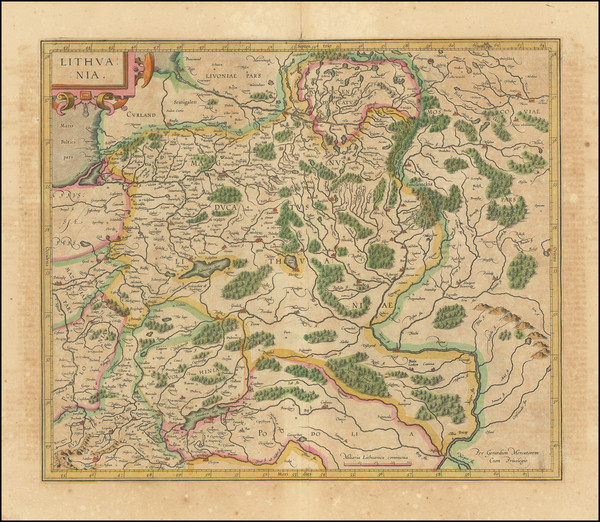 14-Poland and Baltic Countries Map By Rumold Mercator