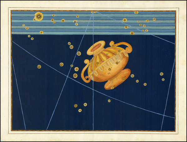 58-Celestial Maps Map By Johann Bayer