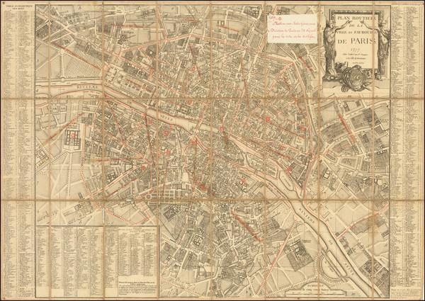 76-France Map By Jean Lattré