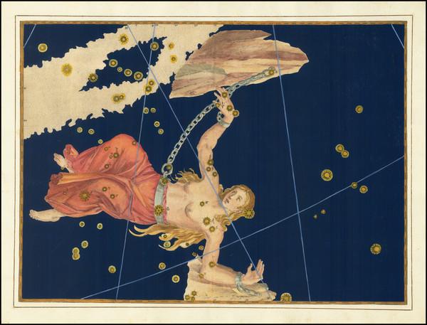 11-Celestial Maps Map By Johann Bayer