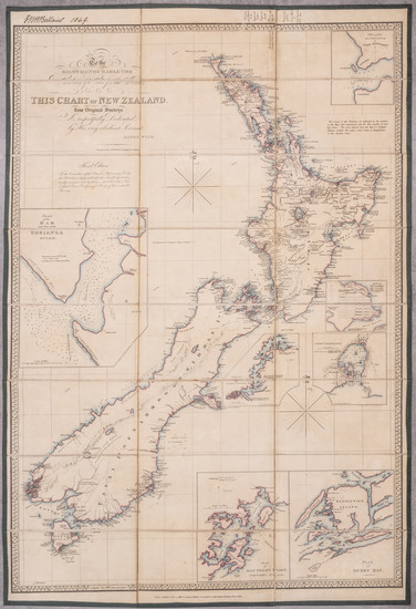 24-New Zealand Map By James Wyld