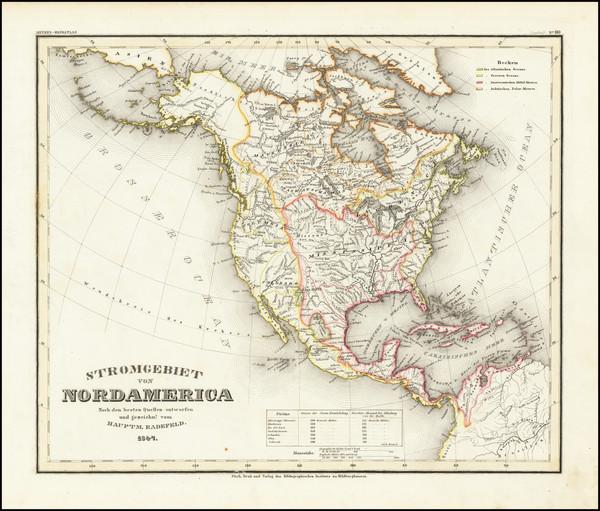 97-North America Map By Joseph Meyer