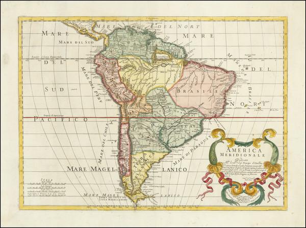 61-South America Map By Paolo Petrini