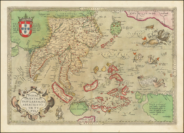 88-Southeast Asia, Philippines, Australia & Oceania, Australia and Oceania Map By Abraham Orte