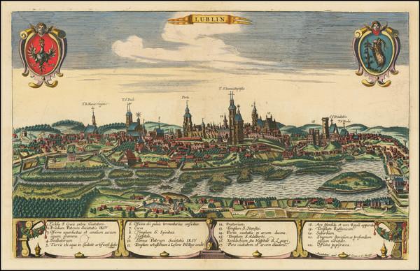 95-Poland Map By Johannes Covens  &  Cornelis Mortier