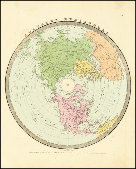 41-Northern Hemisphere and Polar Maps Map By David Hugh Burr