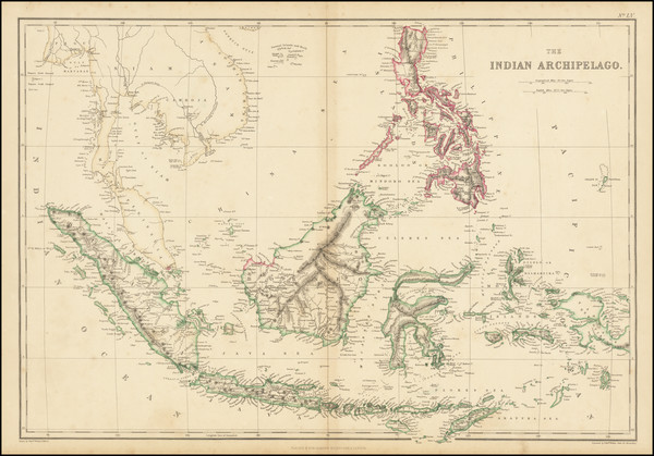 77-Philippines and Indonesia Map By Edward Weller