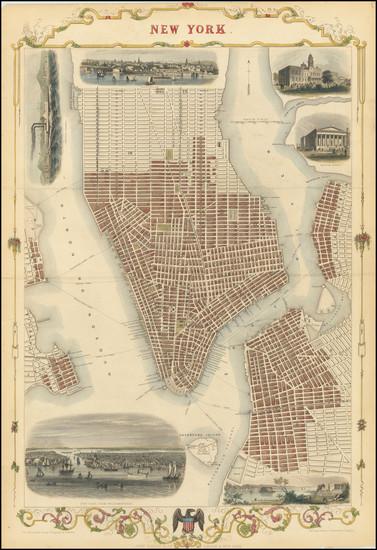 19-Mid-Atlantic Map By John Tallis