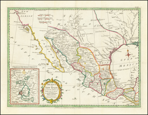 18-Texas, Southwest, Mexico and California Map By Strahan  &  Cadell