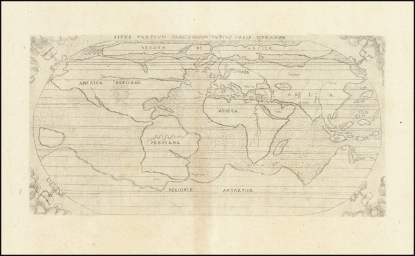 79-World Map By Augustino Torniello