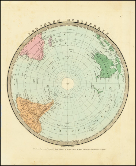 43-Northern Hemisphere and Polar Maps Map By David Hugh Burr