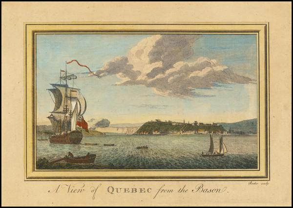 12-Quebec Map By Edward Rooker Senior