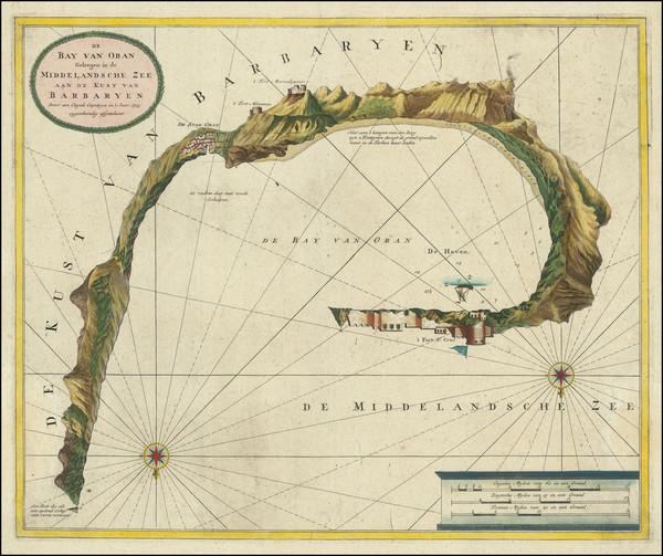 46-North Africa Map By Johannes Van Keulen