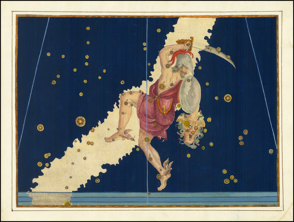 21-Celestial Maps Map By Johann Bayer