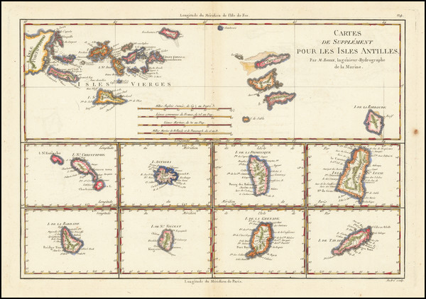 69-Virgin Islands and Other Islands Map By Rigobert Bonne