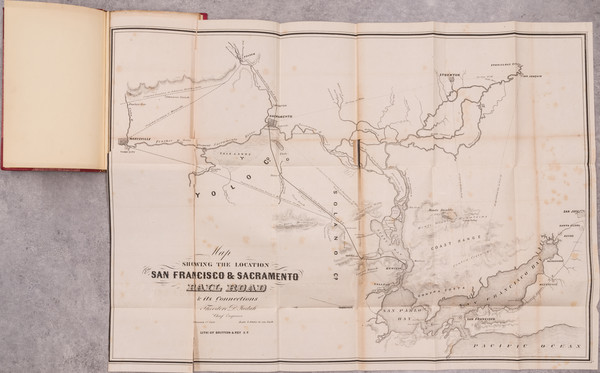 31-California, San Francisco & Bay Area, Other California Cities and Fair Map By Theodore Deho