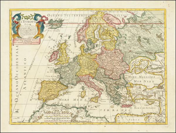 64-Europe Map By Paolo Petrini