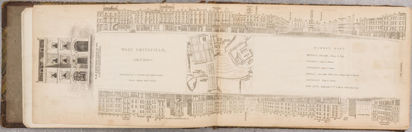 68-London, Atlases and Rare Books Map By John Tallis