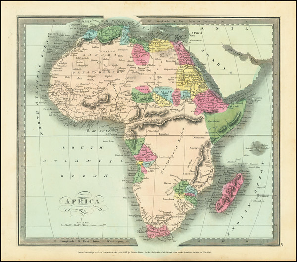 73-Africa and Africa Map By David Hugh Burr
