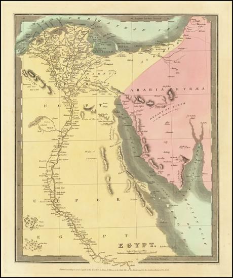 10-Egypt Map By Jeremiah Greenleaf