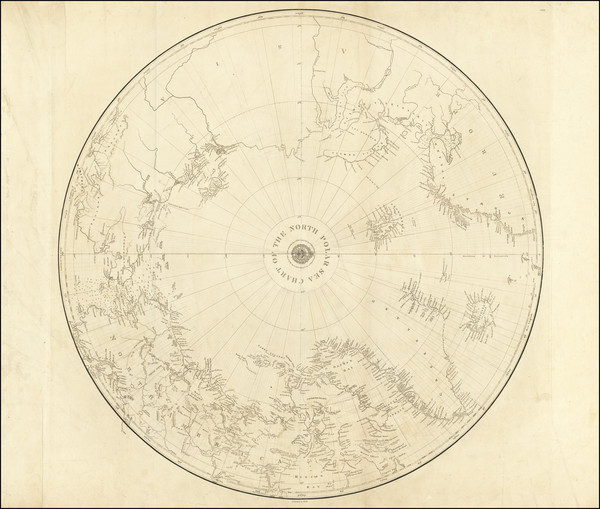70-Polar Maps Map By British Admiralty