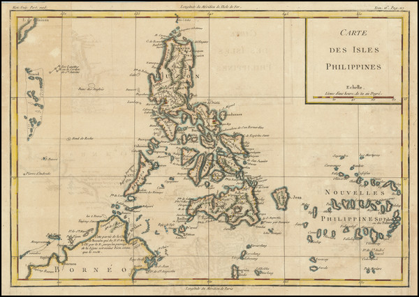41-Philippines Map By Louis Brion de la Tour