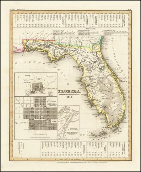 49-Florida Map By Joseph Meyer
