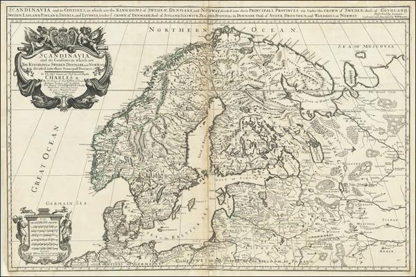 36-Scandinavia Map By William Berry