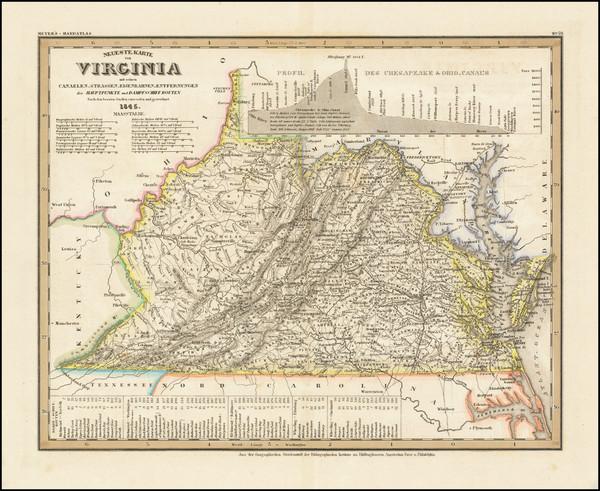 66-Virginia Map By Joseph Meyer