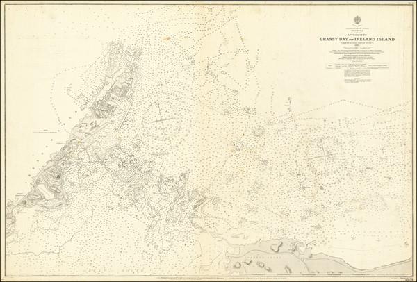 92-Bermuda Map By British Admiralty