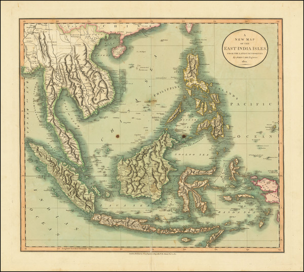 2-Southeast Asia, Philippines, Indonesia, Malaysia and Thailand, Cambodia, Vietnam Map By John Ca