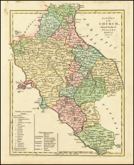 78-Northern Italy Map By Robert Wilkinson