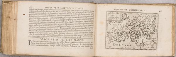 85-Atlases Map By Petrus Bertius / Cornelis Claesz / Barent Langenes